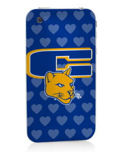 Carmichael School Cougars Apple iPhone 3G/ 3GS Skin