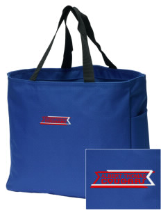 Albert Thomas Middle School Cougars Embroidered Essential Tote