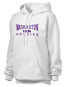 Washington Middle School Huskies Unisex Hooded Sweatshirt