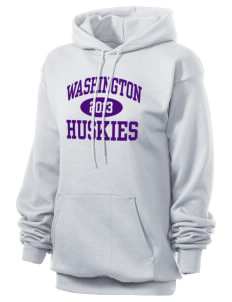Washington Middle School Huskies Unisex 7.8 oz Lightweight Hooded Sweatshirt