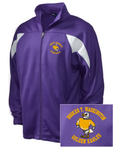 Washington High School Golden Eagles Embroidered Holloway Men's Full-Zip Track Jacket