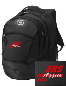 Sylacauga High School Aggies Embroidered OGIO Rogue Backpack