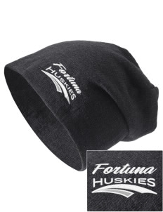Fortuna Union High School Huskies Embroidered Slouch Beanie