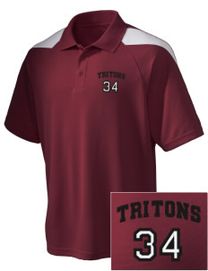 San Clemente High School Tritons Embroidered Holloway Men's Frequency Performance Pique Polo