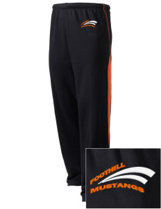 Foothill High School Mustangs Embroidered Holloway Men's Pivot Warm Up Pants