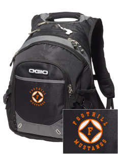 Foothill High School Mustangs Embroidered OGIO Fugitive Backpack