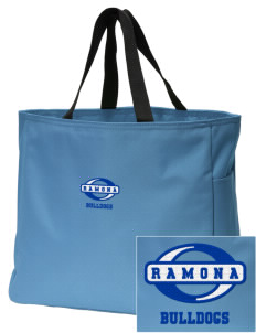 Ramona High School Bulldogs Embroidered Essential Tote