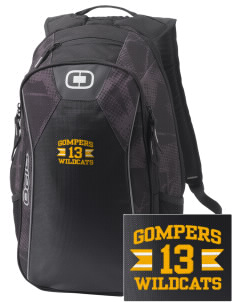 Gompers Secondary School Wildcats Embroidered OGIO Marshall Backpack