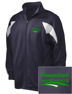 Homestead High School Mustangs Embroidered Holloway Men's Full-Zip Track Jacket