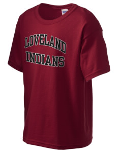 Loveland High School Indians Kid's 6.1 oz Ultra Cotton T-Shirt