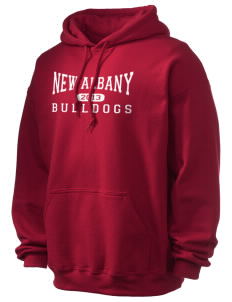 New Albany High School Bulldogs Ultra Blend 50/50 Hooded Sweatshirt