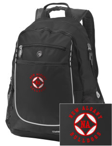 New Albany High School Bulldogs Embroidered OGIO Carbon Backpack