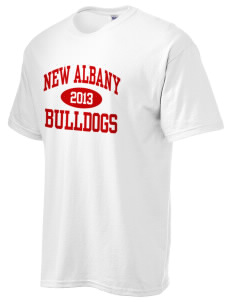 New Albany High School Bulldogs Ultra Cotton T-Shirt
