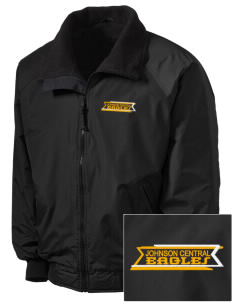Johnson Central High School Eagles Embroidered Tall Men's Challenger Jacket