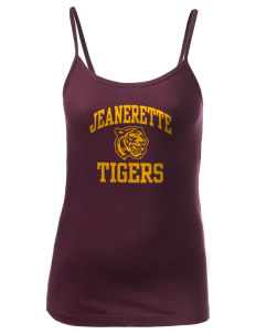 Jeanerette High School Tigers Women's Louise Longer Length Tank