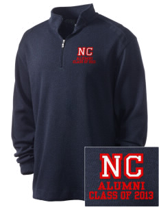 North Cumberland Elementary School Patriots Embroidered Nike Men's Golf Heather Cover Up