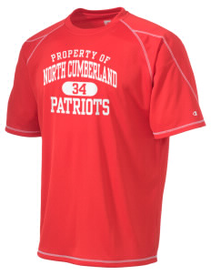 North Cumberland Elementary School Patriots Champion Men's 4.1 oz Double Dry Odor Resistance T-Shirt
