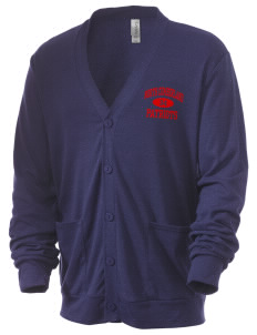 North Cumberland Elementary School Patriots Men's 5.6 oz Triblend Cardigan