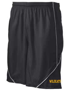 "Saint James High School Wildcats Men's Pocicharge Mesh Reversible Short, 9"" Inseam"