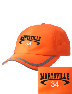 Marysville High School Indians  Embroidered Safety Cap