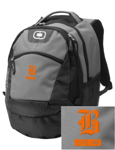 Billings Senior High School Broncs Embroidered OGIO Rogue Backpack