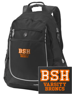 Billings Senior High School Broncs Embroidered OGIO Carbon Backpack