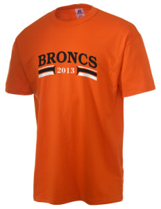 Billings Senior High School Broncs  Russell Men's NuBlend T-Shirt