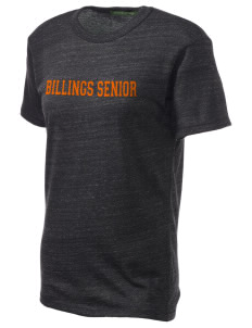 Billings Senior High School Broncs Embroidered Alternative Unisex Eco Heather T-Shirt