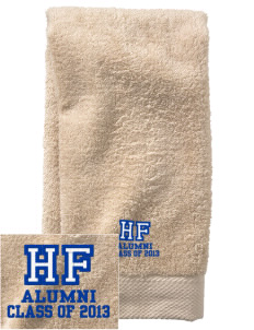 Holy Family School Hornets  Embroidered Zero Twist Resort Hand Towel