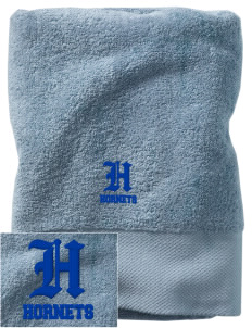 Holy Family School Hornets Embroidered Zero Twist Resort Towel