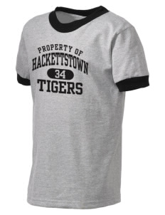 Hackettstown High School Tigers Kid's Ringer T-Shirt