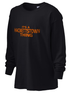 Hackettstown High School Tigers Kid's 6.1 oz Long Sleeve Ultra Cotton T-Shirt