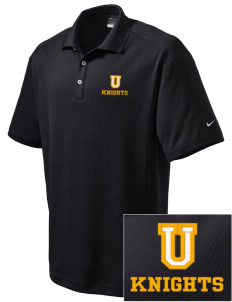 Uniondale High School Knights Embroidered Nike Men's Dri-Fit Classic Polo