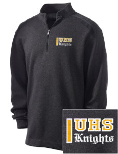 Uniondale High School Knights Embroidered Nike Men's Golf Heather Cover Up