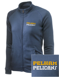 Pelham Pelicans Embroidered Women's French Terry Raglan Jacket