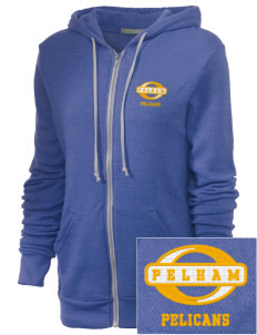Pelham Pelicans Embroidered Alternative Unisex The Rocky Eco-Fleece Hooded Sweatshirt