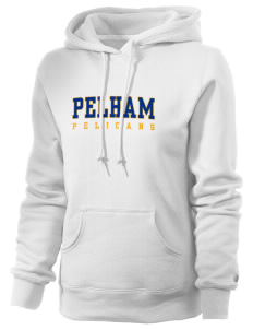 Pelham Pelicans Russell Women's Pro Cotton Fleece Hooded Sweatshirt