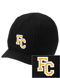 Farmville Central High School Jaguars Embroidered Knit Beanie with Visor