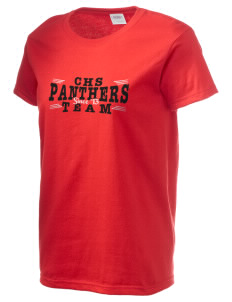 Central High School Panthers Women's 6.1 oz Ultra Cotton T-Shirt
