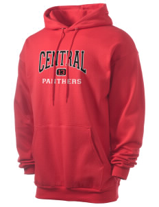 Central High School Panthers Men's 7.8 oz Lightweight Hooded Sweatshirt
