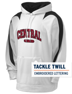 Central High School Panthers Holloway Men's Sports Fleece Hooded Sweatshirt with Tackle Twill