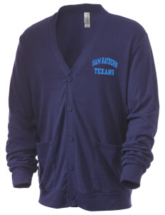 Sam Rayburn High School Texans Men's 5.6 oz Triblend Cardigan