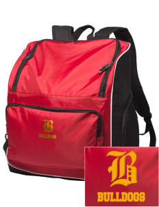 Elementary School 20 Bulldogs Embroidered Holloway Backpack