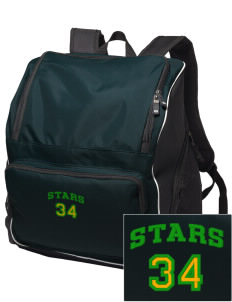 Gold Hill Elementary School Stars Embroidered Holloway Backpack