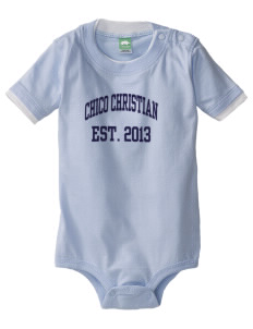 Chico Christian School Lion Cubs Baby One-Piece with Shoulder Snaps