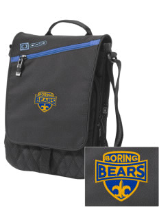 Boring Middle School Bears Embroidered OGIO Module Sleeve for Tablets