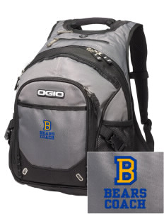 Boring Middle School Bears Embroidered OGIO Fugitive Backpack