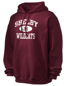 Shelby Elementary School Wildcats Ultra Blend 50/50 Hooded Sweatshirt