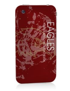 Portsmouth Christian Academy Eagles Apple iPhone 3G/ 3GS Skin