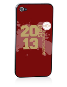Portsmouth Christian Academy Eagles Apple iPhone 4/4S Skin